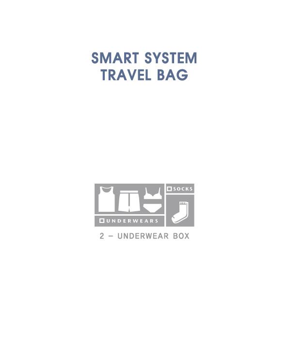 스마트 시스템 트래블백 -언더웨어백(box) - 유아이티, 22,000원, 트래블팩단품, 멀티파우치